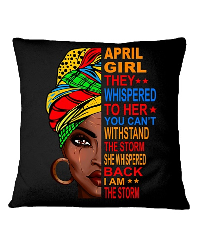 April Girl - I am the Storm
