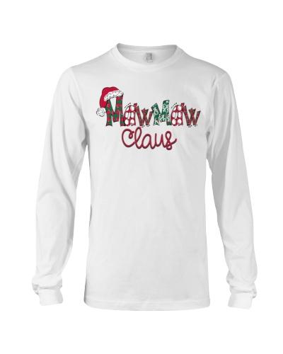 Mawmaw  Claus Christmas Art