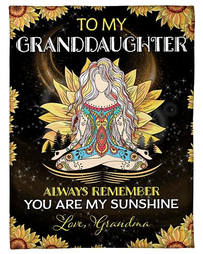 To my Granddaughter - Grandma