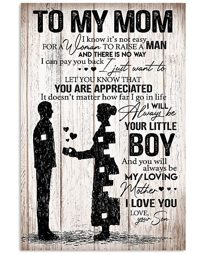 TO MY MOM - POSTER