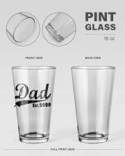 Dad - Est  16oz Pint Glass aos-16oz-pint-glass-lifestyle-front-21