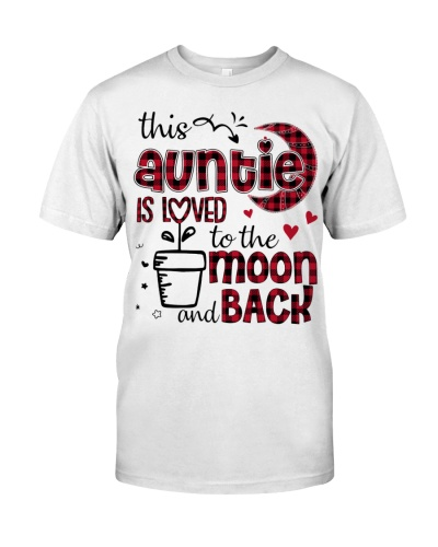 This Auntie is loved - cute Design