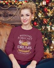 limited editi0n Crewneck Sweatshirt lifestyle-holiday-sweater-front-2