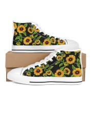 Sunflowers Women's High Top White Shoes thumbnail