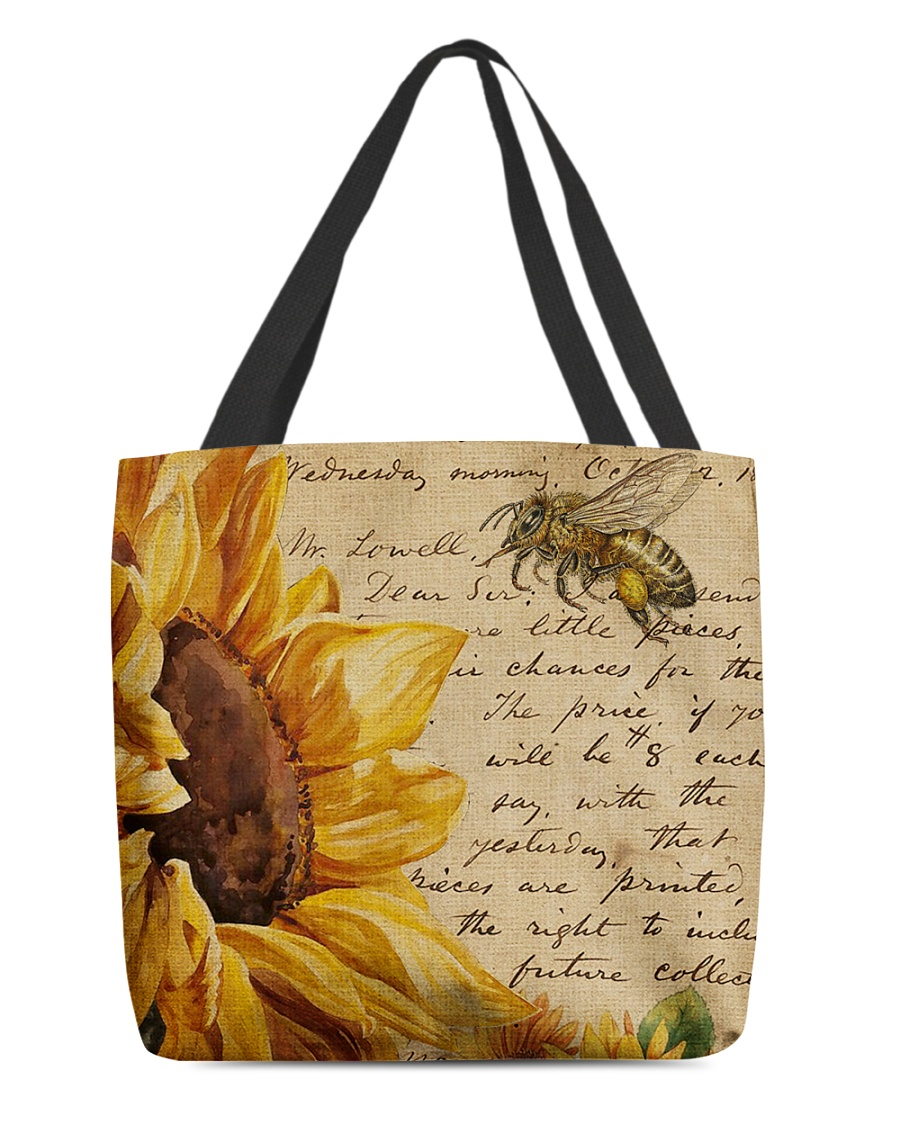 Sunflower All-over Tote