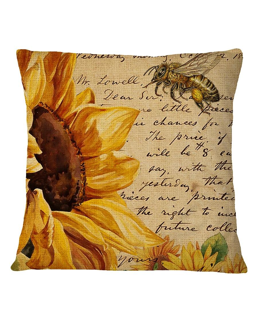 Sunflower Square Pillowcase