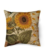 "Sunflower Indoor Pillow - 16"" x 16"" thumbnail"