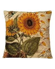 Sunflower Square Pillowcase front