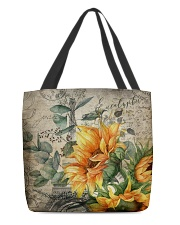 Sunflower All-over Tote front