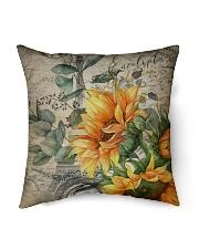 "Sunflower Indoor Pillow - 16"" x 16"" thumbnail"