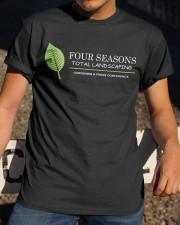 Four Seasons Total Landscaping shirt Classic T-Shirt apparel-classic-tshirt-lifestyle-28