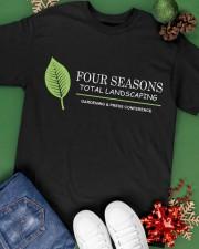Four Seasons Total Landscaping shirt Classic T-Shirt apparel-classic-tshirt-lifestyle-back-69