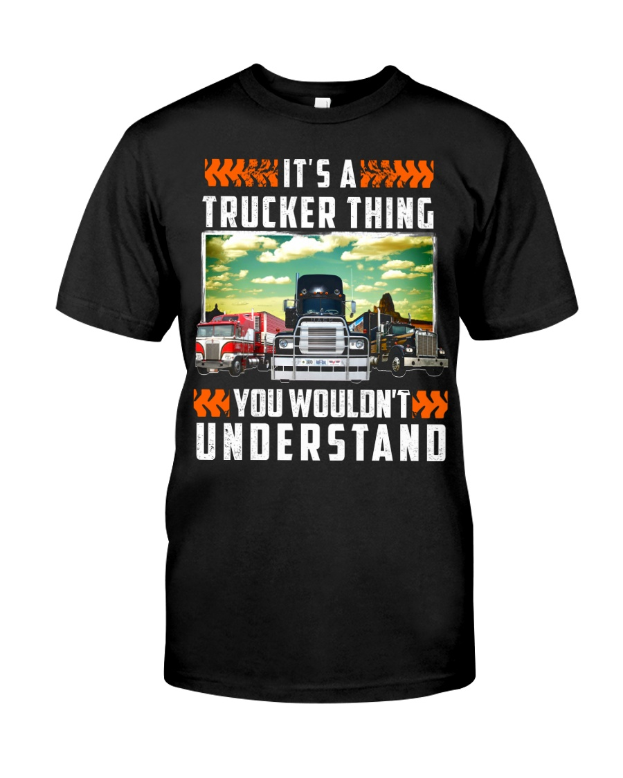 TRUCKER THING Classic T-Shirt