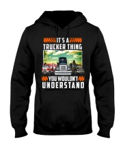 TRUCKER THING Hooded Sweatshirt thumbnail