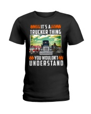 TRUCKER THING Ladies T-Shirt thumbnail