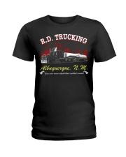 R D TRUCKING - MOVIE T-SHIRT Ladies T-Shirt thumbnail