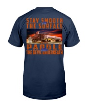 STAY SMOOTH ON THE SURFACE Classic T-Shirt tile