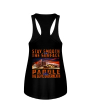 STAY SMOOTH ON THE SURFACE Ladies Flowy Tank thumbnail