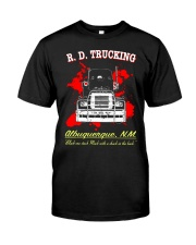 R D TRUCKING - MOVIE T-SHIRT Classic T-Shirt front