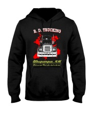 R D TRUCKING - MOVIE T-SHIRT Hooded Sweatshirt thumbnail