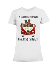 On a Dark Desert Highway Tshirt Gift Premium Fit Ladies Tee front