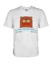 this is my otter shirt V-Neck T-Shirt thumbnail