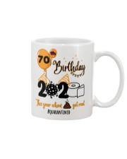 70th Birthday Mug tile
