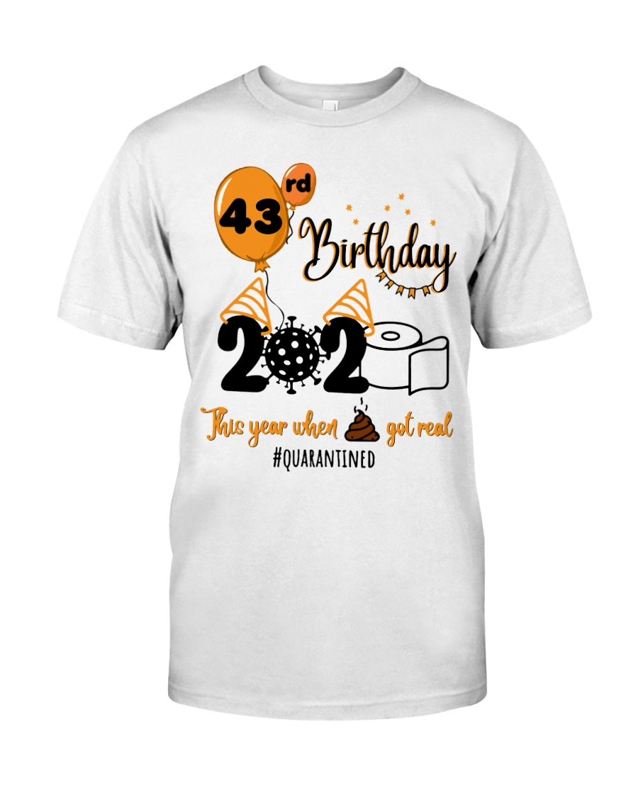 43rd Birthday Classic T-Shirt