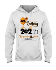 43rd Birthday Hooded Sweatshirt thumbnail