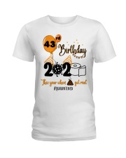 43rd Birthday Ladies T-Shirt thumbnail