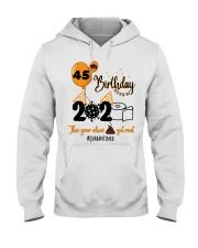 45th Birthday Hooded Sweatshirt thumbnail