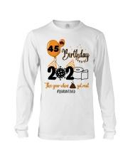 45th Birthday Long Sleeve Tee thumbnail