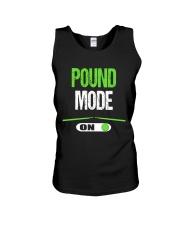 Pound Mode On - Pound Workout  Unisex Tank thumbnail