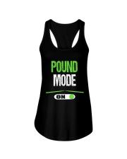 Pound Mode On - Pound Workout  Ladies Flowy Tank thumbnail