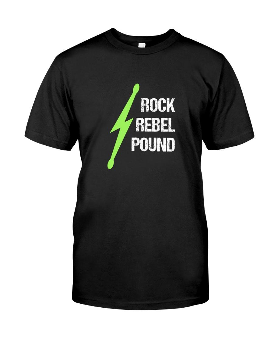 Pound Workout - Rock Rebel Pound Classic T-Shirt