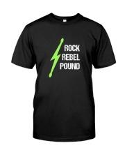 Pound Workout - Rock Rebel Pound Classic T-Shirt front