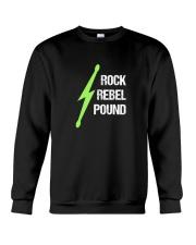 Pound Workout - Rock Rebel Pound Crewneck Sweatshirt thumbnail