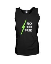Pound Workout - Rock Rebel Pound Unisex Tank thumbnail
