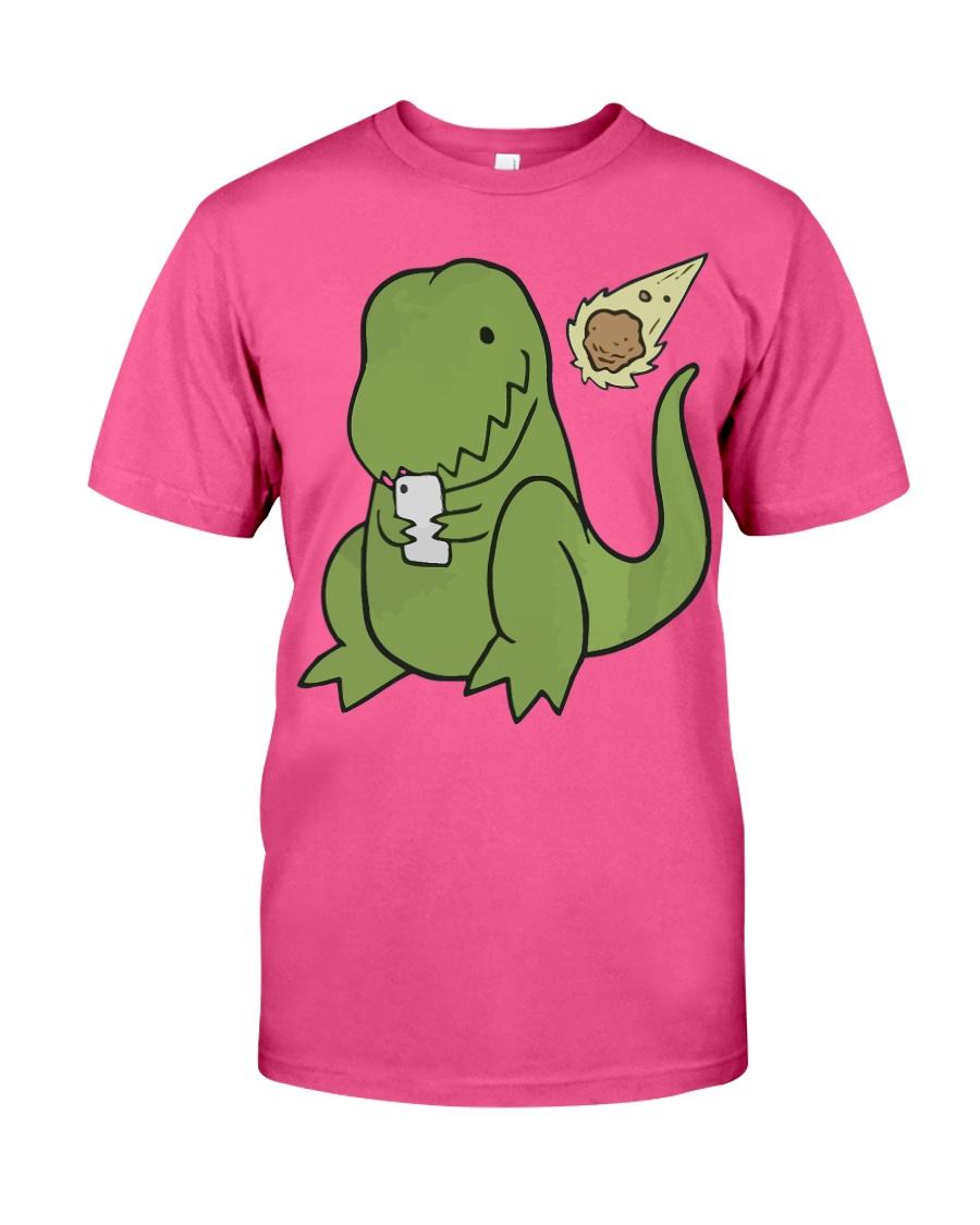 Tyrannosaurus Selfie Funny Dinosaur Classic T-Shirt