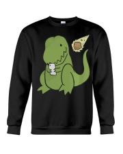 Tyrannosaurus Selfie Funny Dinosaur Crewneck Sweatshirt thumbnail