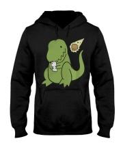 Tyrannosaurus Selfie Funny Dinosaur Hooded Sweatshirt thumbnail