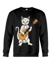 CAT UKELELE Crewneck Sweatshirt thumbnail