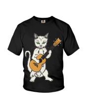 CAT UKELELE Youth T-Shirt thumbnail