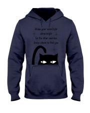 Make your weird light shine bright cat Hooded Sweatshirt thumbnail