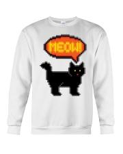 Meow - Funny Cat Crewneck Sweatshirt thumbnail