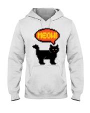 Meow - Funny Cat Hooded Sweatshirt thumbnail