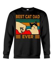 Best cat dad ever Slim Fit T-Shirt Crewneck Sweatshirt thumbnail