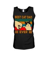 Best cat dad ever Slim Fit T-Shirt Unisex Tank thumbnail