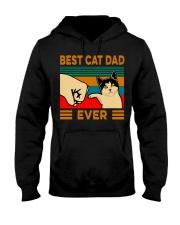 Best cat dad ever Slim Fit T-Shirt Hooded Sweatshirt thumbnail