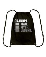 Awesome Grandpa The Man The Myth The Legend Drawstring Bag thumbnail